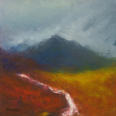 Impressionist Scottish landscape prints