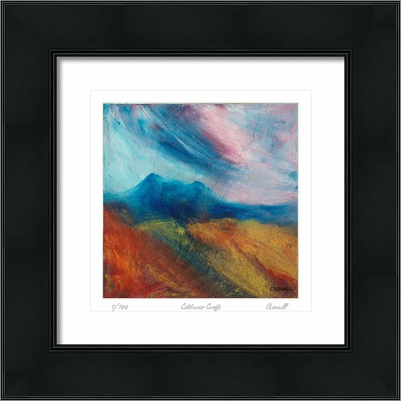 Framed Scottish mountain prints