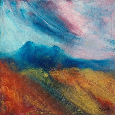 Contemporary Scottish border landscape painting