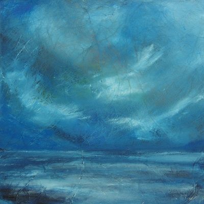 Abstract Scottish seascape