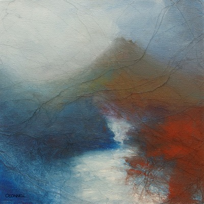 Contemporary Abstract Scottish painting of Skye