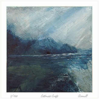 Scottish seascape limited edition giclee prints