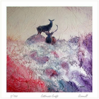 Modern Scottish wildlife paintings and prints