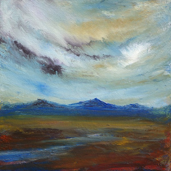 Allt Garbh Forsinard art painting