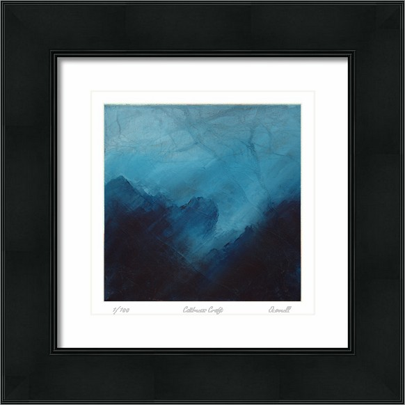 Cuillin mountain abstract Scottish art paintings