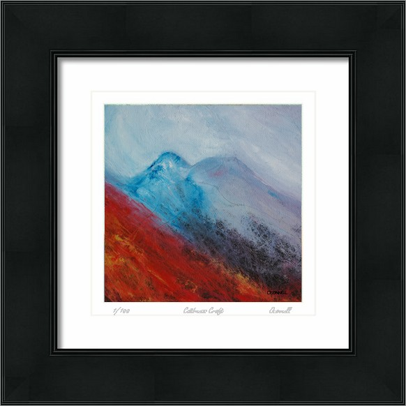 Framed Scottish giclee prints