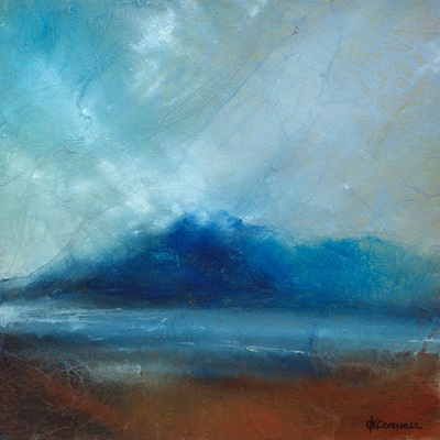 Painting of Torridon mountains