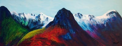 Glencoe panoramic giclee prints