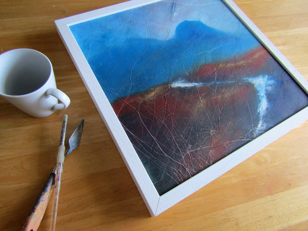 Cuillin mountain painting