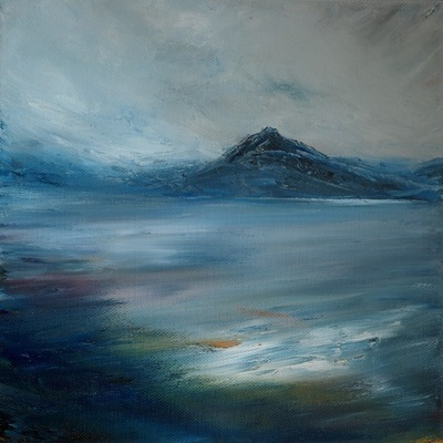 Scottish oil painting