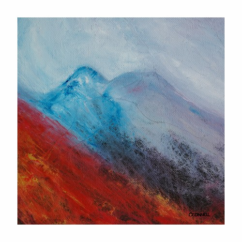 Achnashellach Scottish landscape painting