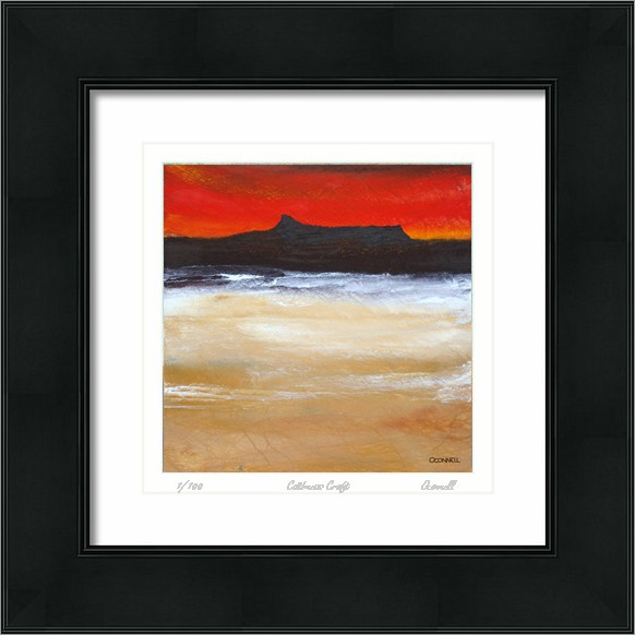 Contemporary isle of eigg paintings