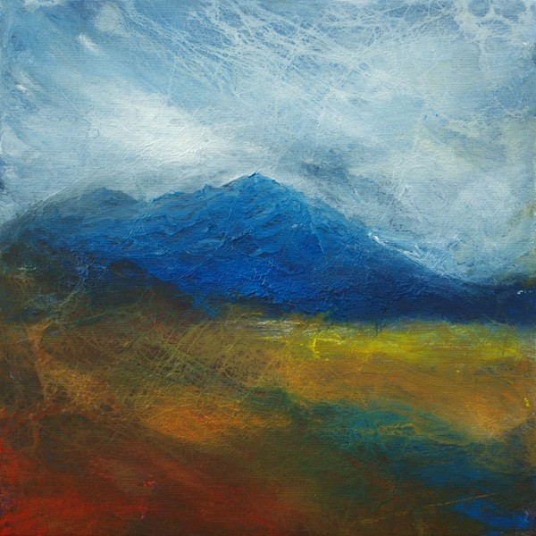 Lochaber mountain landscape art painting