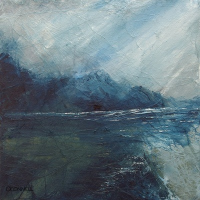 Contemporary Scottish seascape