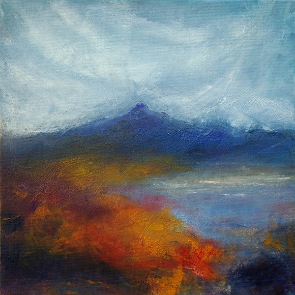 Contemporary impressionist Scottish art painting