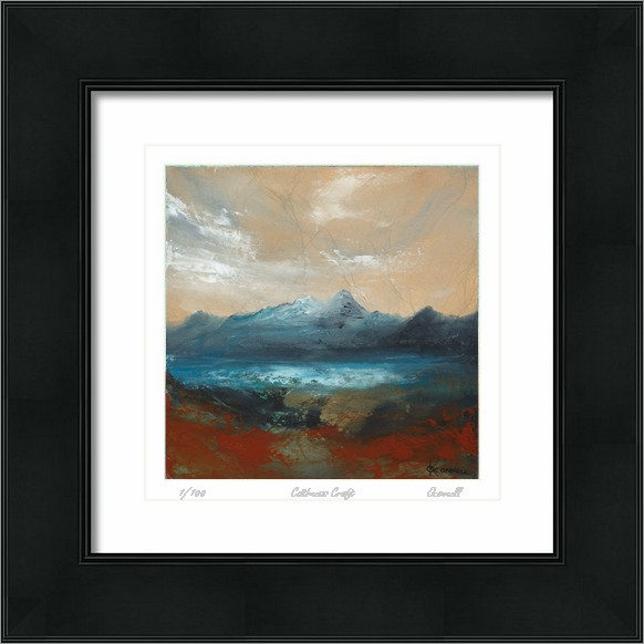 Suilven original modern contemporary mountain art painting