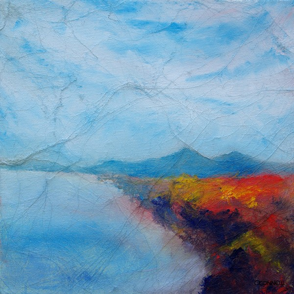 Loch more Caithness landscape painting