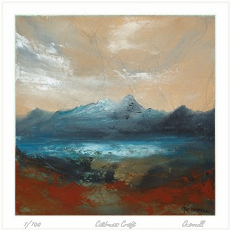 Suilven scottish mountain giclee prints