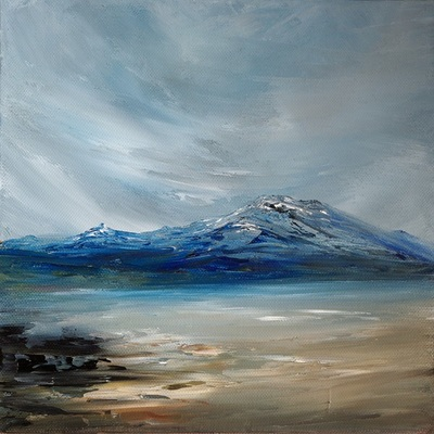 Scottish landscape oil painting