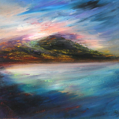 Scottish coastal landscape prints