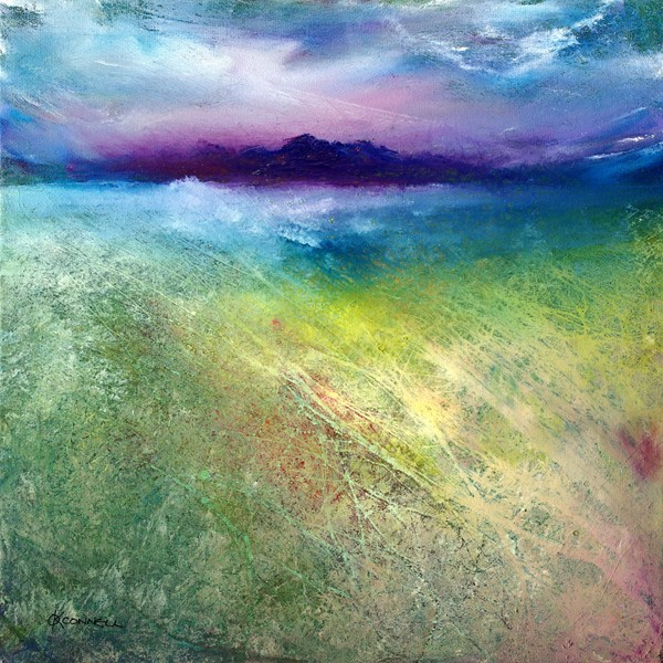 Hebridean Machair landscape painting