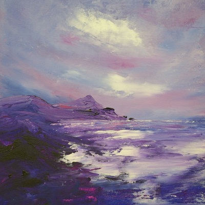 Scottish coastal painting
