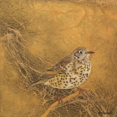 Scottish bird painting